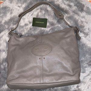 Longchamp Cowhide Shoulder Bag